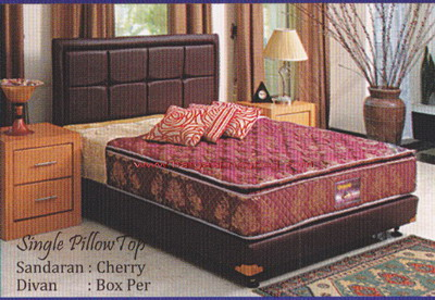 uniland symphony single pillowtop