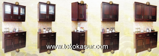 Index of klasifikasi gambar kitchenset new folder for Rak kitchen set